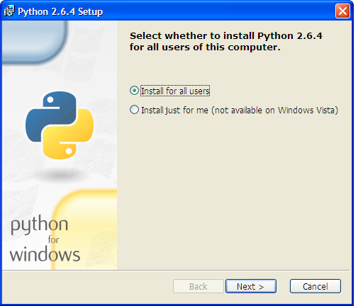 how to run software api in python